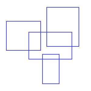 Four rectangles