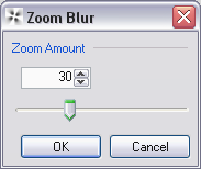 Zoom blur option