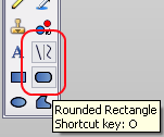 Lines and rounded rectangle tools