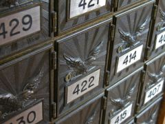Numbered mailboxes @iStockphoto / Eliza Snow