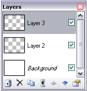 Paint.NET layer panel