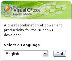Visual Studio C# 2005 Express download