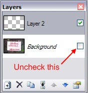 Focus on layer 2