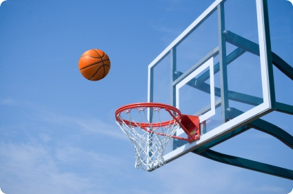 Shoot the hoop by Matthew Porter @iStockphoto