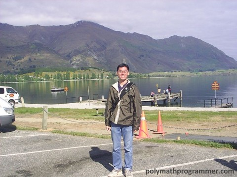 Vincent at Lake Wanaka