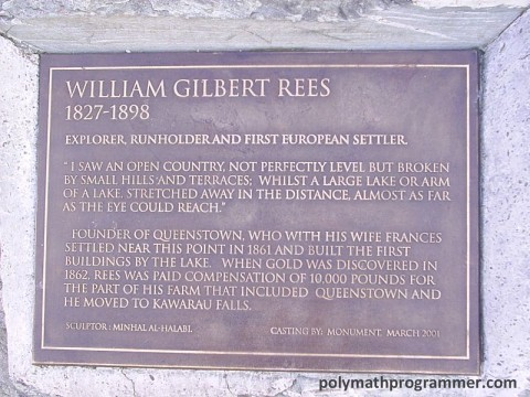 William Gilbert Rees information