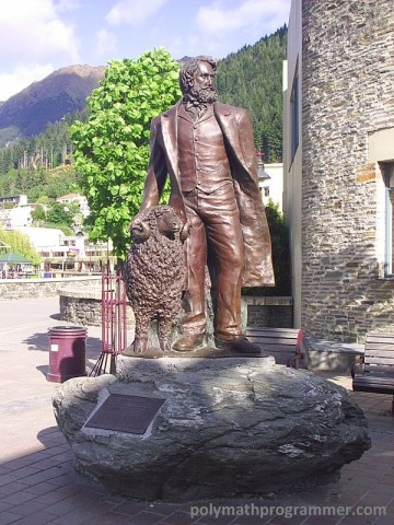 William Gilbert Rees statue