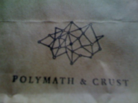 Polymath & Crust paper bag