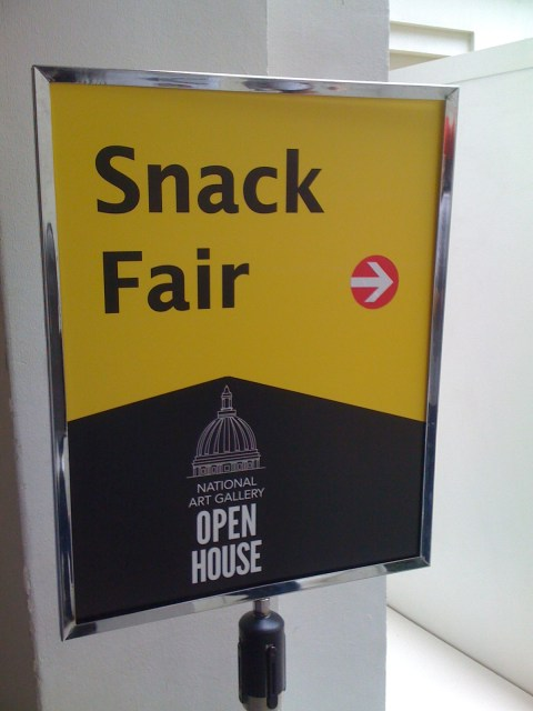 Snack fair