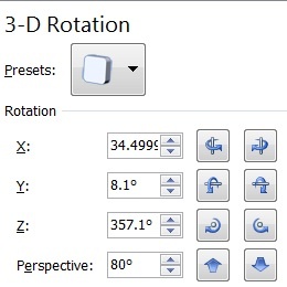 SpreadsheetLight 3D picture rotation options