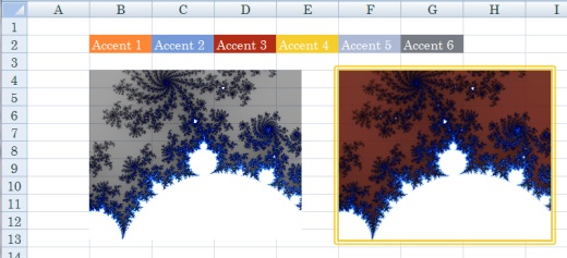 SpreadsheetLight picture fill and outline