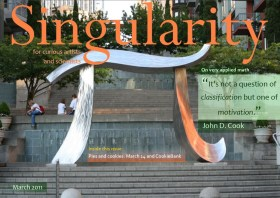 Singularity Magazine March 2011 issue