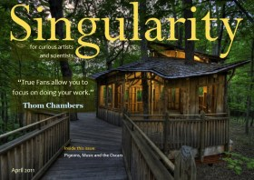 Singularity Magazine April 2011 issue