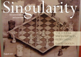 Singularity Magazine August 2011 issue