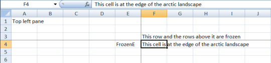 Excel Open XML Freeze Panes